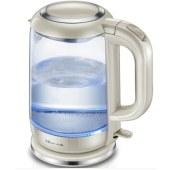 小熊(Bear)家用玻璃电热水壶304不锈钢健康烧水壶 ZDH-A15G2 1.5L