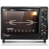 美的(Midea)电烤箱家用多功能 旋转烧烤低温发酵T3-L383B 38L红色