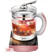 美的(Midea)养生壶WGE1701b 煎药壶煮茶壶多功能电水壶烧水壶 1.5L容量