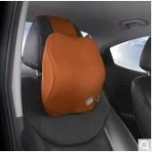 吉吉(GiGi)汽车头枕 G-1601太空记忆棉车用颈枕头靠枕 舒适护颈头枕 黑色