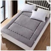 艾维 床品家纺床褥子 全棉印花时尚床垫子垫被榻榻米 加大双人 180*200cm