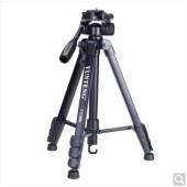 云騰(YUNTENG) VT-888 精品便攜三腳架云臺套裝 微單數碼單反相機攝像機旅行用 優質鋁合金超輕三角架黑色