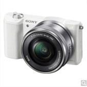 索尼(SONY)ILCE-5100L APS-C微单单镜套机 黑色(2430万有效像素 16-50mm镜头 F3.5-5.6 a5100L/α5100)