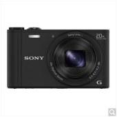 索尼(SONY) DSC-WX350 数码相机 白色(1820万有效像素 20倍光学变焦 25mm广角 Wi-Fi遥控拍摄)