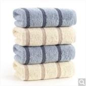 金号纯棉加厚毛巾 简约条纹