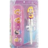 迪士尼正版 长发公主3D益智筷盒套装 DP2179